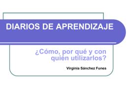 DIARIOS DE APRENDIZAJE - Congreso Mundial de