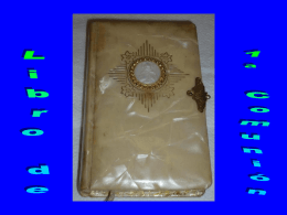 Libro de Primera Comunión