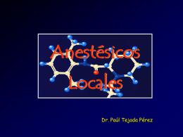 Anestésicos Locales (Descarga PPT)