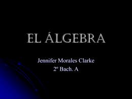 EL ÁLGEBRA - Destacamos