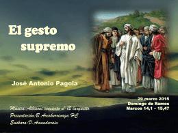 EL GESTO SUPREMO - Parroquia de Guadalupe(Cáceres)