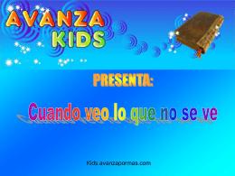 Diapositiva 1 - Avanza Kids