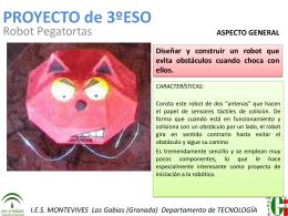 PROYECTO de 1ºESO - I.E.S. Montevives