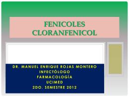 Fenicoles (Cloramfenicol