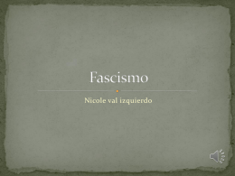 Fascismo - Recursos Académicos