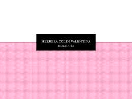 HERRERA COLIN VALENTINA