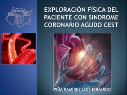 EXPLORACIÓN FÍSICA DEL PACIENTE CON SICA, CON