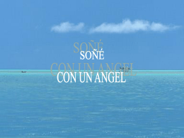 SOÑÉ CON UN ANGEL