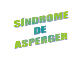 SÍNDROME DE ASPERGER