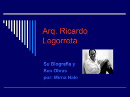 Arq. Ricardo Legorreta