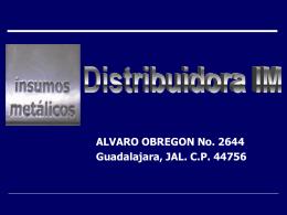 DISTRIBUIDORA IM, S.A. DE C.V. GUADALAJARA, JAL