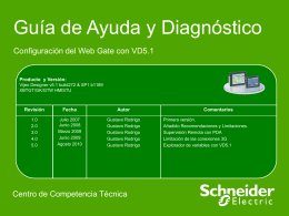 GDv9 - Configuracion WebGate con VD51.pps
