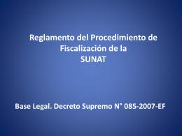 PROCEDIMIENTO DE FISCALIZACIÓN