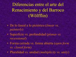 Diferencias entre el arte del Renacimiento y del
