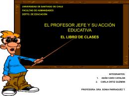 Diapositiva 1 - Castellano 2004 Usach