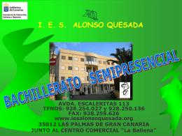I. E. S. ALONSO QUESADA