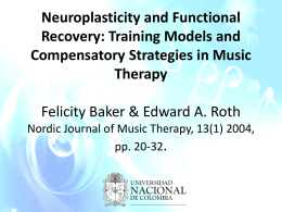 Neuroplasticity and Functional Recovery: Training