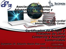 Certificados de Origen y Tratados de Libre