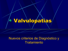 Graduación hemodinámica estenosis aórtica
