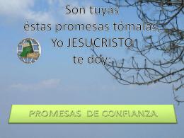 promesas de confianza - Iglesia Evangelística