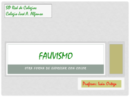 Fauvismo - artesip | Just another WordPress.com