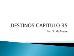 DESTINOS CAPITULO 35