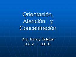 Exámen Mental Atención y Concentración -