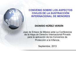 SUSTRACCION INTERNACIONAL DE MENORES