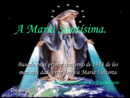 Ave María Bendita