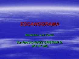 ESCANOGRAMA - Cruz Roja Argentina