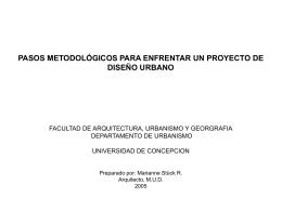 Pasos metodológicos para enfrentar un proyecto de