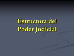 El Poder Judicial - Universidad de Córdoba