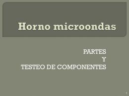 Horno microondas - em2010