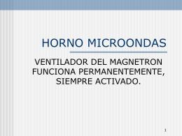 HORNO MICROONDAS - Portal do Eletrodomestico: