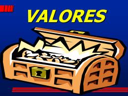 Valores - Ministerio Crecer