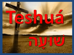 La salvacion H8668 ְּשׁוּעָה teshuá de H7768 en el
