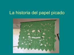 La historia del papel picado