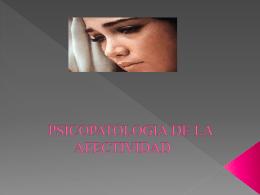 LA AFECTIVIDAD - Tele Medicina de Tampico