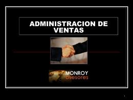 CURSO ADMINISTRACION DE VENTAS