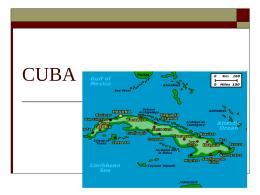 CUBA - Scarsdale Public Schools / Overview