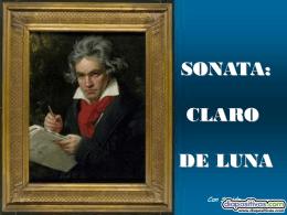 SONATA: CLARO DE LUNA - PowerPoints de Humor,