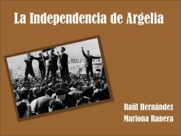 La Independencia de Argelia