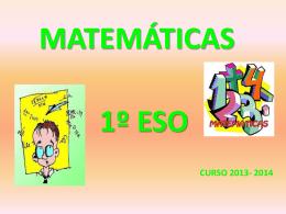MATEMÁTICAS - matemáticas1ºeso | Sólo otro sitio