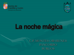 La noche mágica - Portal de Educación de la Junta