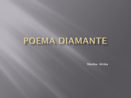 POEMA DIAMANTE