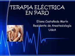 TERAPIA ELÉCTRICA EN PARO