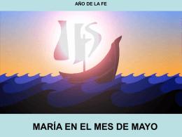 MARÍA EN EL MES DE MAYO
