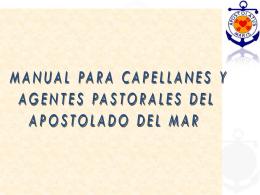 MANUAL PARA CAPELLANES Y AGENTES PASTORALES DEL
