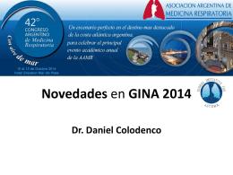 Novedades en GINA 2014