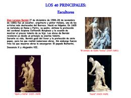 LOS 40 PRINCIPALES: Escultores